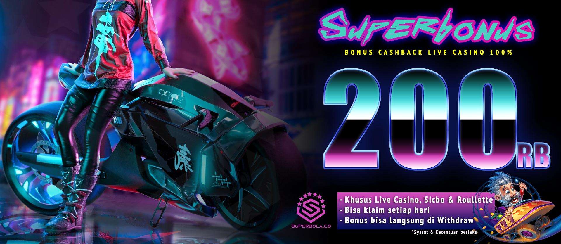 bonus live casino 200 ribu