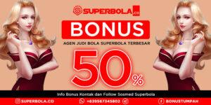Dapatkan Banyak Peluang Bonus di Agen Bola Bonus Deposit Superbola