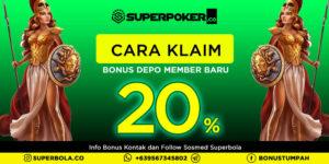 Poker Bonus Deposit Member Baru dari Superpoker dan Cara Klaimnya