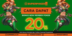 Poker Bonus Deposit New Member dan Bagaimana Cara Dapat Bonusnya