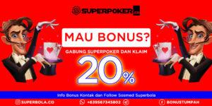 Mau Poker Online Bonus Deposit? Segera Bergabung di Superpoker!