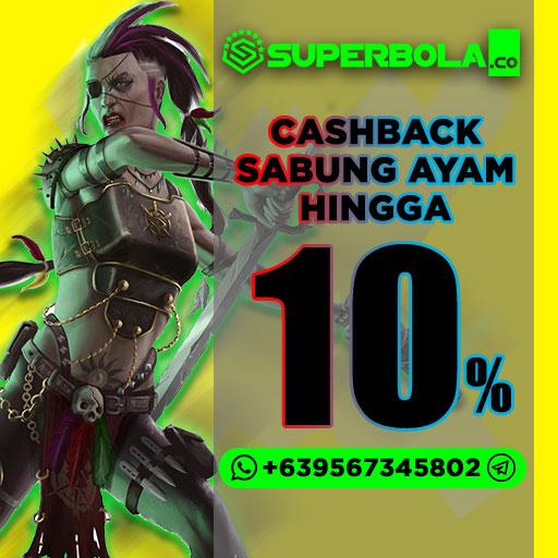 100 persen (100%) Bonus Cashback Judi Online Sicbo Bonus Superbola