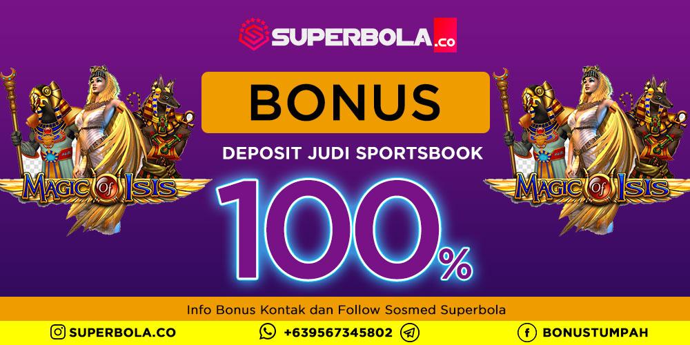 100% Deposit Bonus Sportsbook